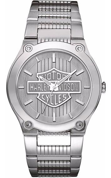 Reloj Harley Davidson Signature 76a134 Para Hombre E-watch