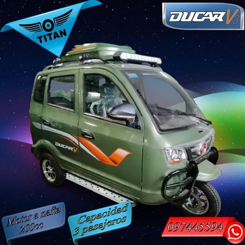Triciclo 5 Puertas Titan Ducar V3 0 Km