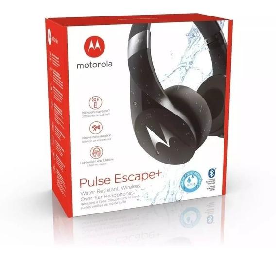 Fone Motorola Pulse Escape + Sh013 Preto