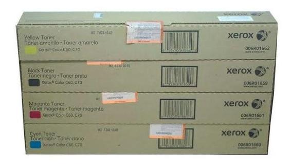 Kit Completo De Toner Xerox - C60 / C70 - Original
