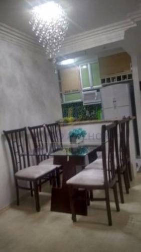 Imagem 1 de 21 de Apartamento Em Condomínio Padrão Para Venda No Bairro Vila Paranaguá, 2 Dorm, 1 Suíte, 1 Vagas, 45 M.ap0890 - Ap0890