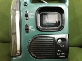 Televisão Lanterna E Rádio E Sirene Made In Japan