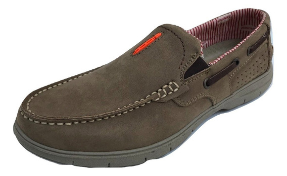 Zapato Mocasin Casual Speedy 7338 Hombre Cafe