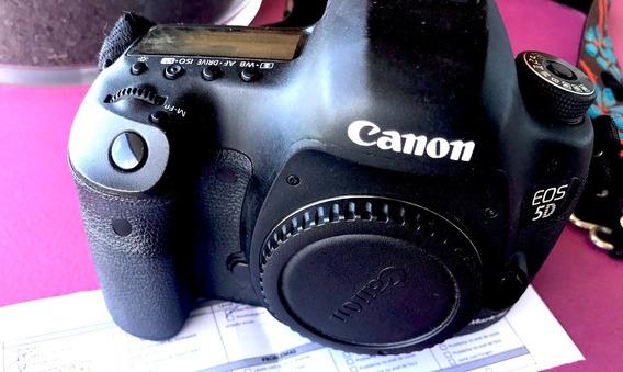 Canon 5d Mk3 (5d Mkiii Ou Mk-iii ) - Câmera