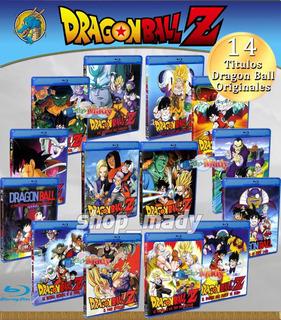 Super Paq De 14 Peliculas De Dragon Ball Blu-ray