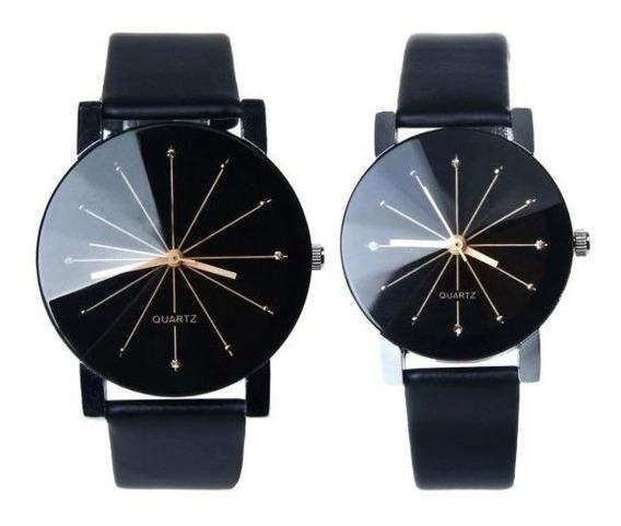 1 Reloj Para Hombre Metal Elegante Relojes Vintage +correa