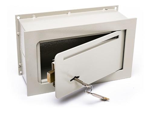 Caja Fuerte 15x25x9 De Embutir Pared Fina Buzon E1 C/b
