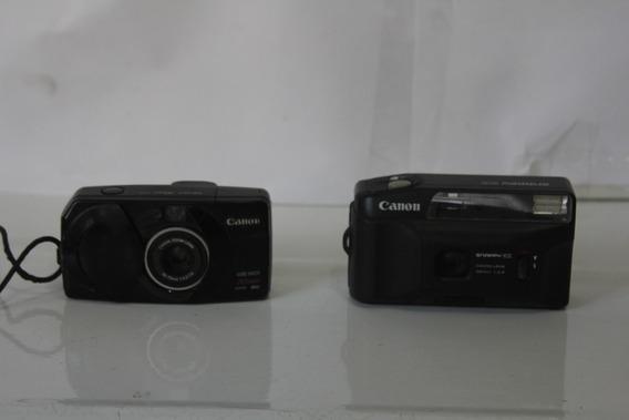 Lote De 2 Máquinas Fotográficas Antigas Canon