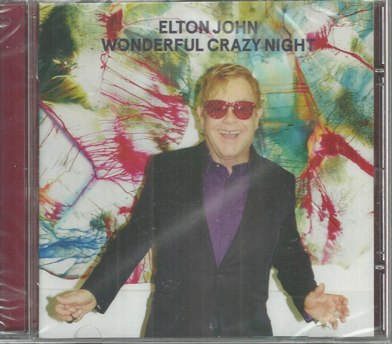 Cd Elton John Wonderful Crazy Night 2016 Universal Lacrado