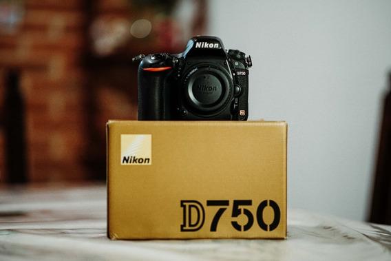 Body Nikon D750 / Serie 8911132 Camara Dslr Foto Video