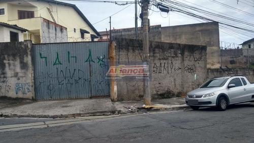 Terreno Para Alugar, 600 M² - Bom Clima - Guarulhos/sp - Ai16322