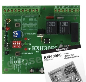 Central Placa De Comando P/ Portão Eletrônico Rossi Kxh30fs