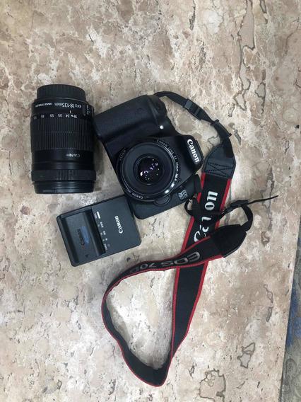 Camera Canon 70d Usada