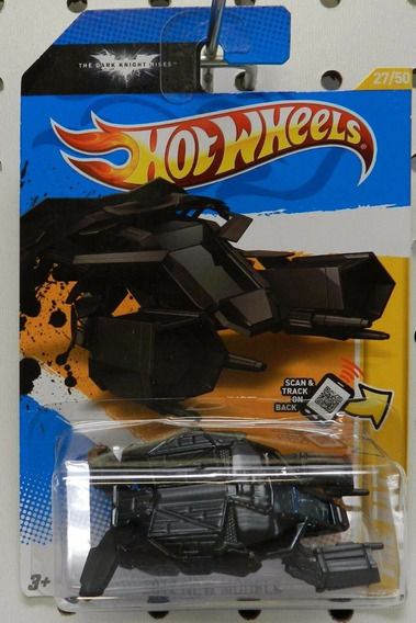 Hot Wheels 2012 New Models Batman 27/247 The Bat 27/50