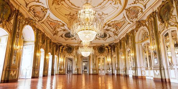 Fundo Fotográfico Tecido Grande Hall Palácio 6x3m