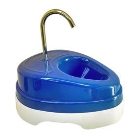 Fonte De Agua Para Gato Eletrica 110v Azul
