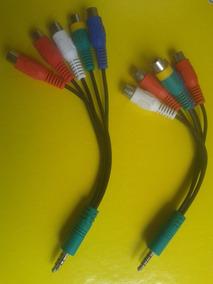 Cabo Adaptador Rca Av Componente Para Tv Led Lcd P1/p2