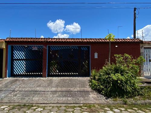 Casa Lado Praia Em Itanhaém Com 3 Quartos - Ca287-f Lc