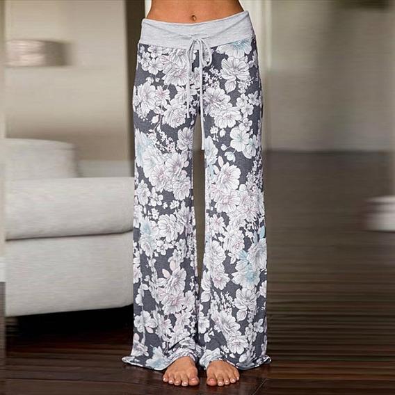 Pantalon Talla 7 9 Floreado De Moda De Los Angeles Vmj En Mercado Libre Mexico