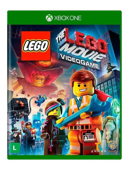 The Lego Movie Videogame Xbox One Mídia Física Novo Lacrado