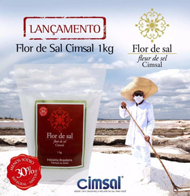 Flor De Sal - 5x01kg - Natural - Artesanal - Gourmet