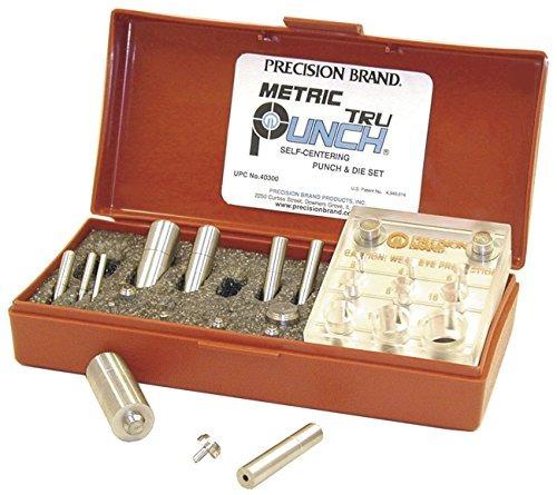 Imagen 1 de 3 de Precision Brand Metric 10 Trupunch Punch And Die Set