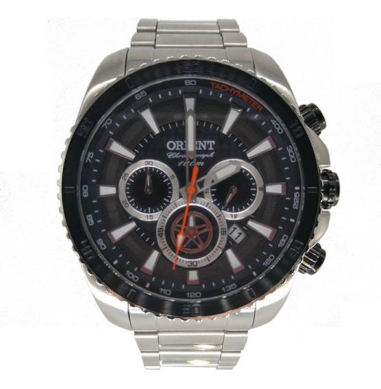 Relógio Orient Masculino Prata Cronógrafo
