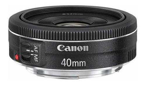 Imagem 1 de 4 de Mlb - Lente Canon Ef 40mm F/2.8 Stm - Mlb1839338659