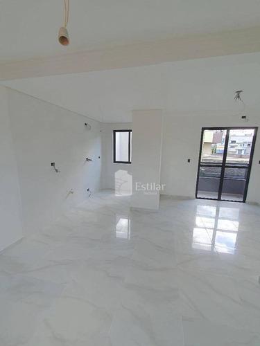 Apartamento 02 Quartos (01 Suíte) No Centro, São José Dos Pinhais - Ap3221