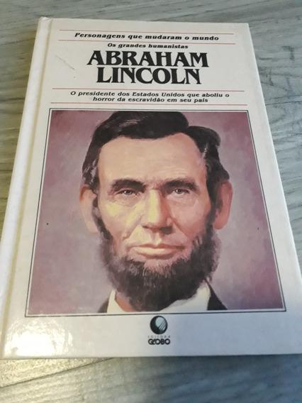 Livro Personagens Que Mudaram O Mundo Abraham Lincoln 1993