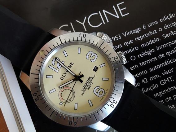 Relógio Suíço Glycine Full Size Mov. Automático Novíssimo!
