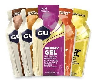 Gu Energy Gel Kit Com 8 Sachês Escolha Os Sabores