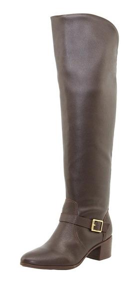 Bota Feminina Over Knee Marrom Bottero - 266103
