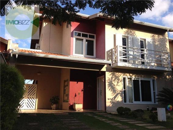 Casa Residencial À Venda, Condomínio São Joaquim, Valinhos. - Ca1652