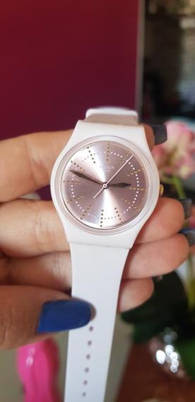 Relógio Swatch Rosé Swarovski