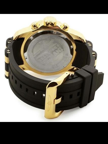 Relógio Invicta Scuba Pro Diver 6983/21929 B.á Ouro 18k