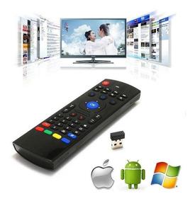 Air Mouse E Teclado Wireless Controle Remoto Smart Tv Pc T2