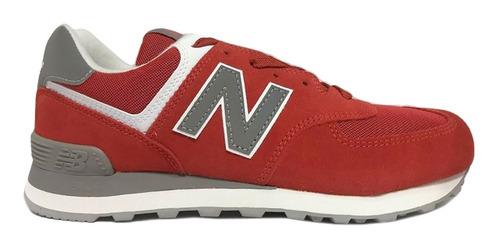 new balance 574 rojas