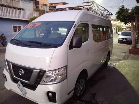 Nissan Urvan 2.5 12 Pas Aa Pack Seguridad Mt 2019