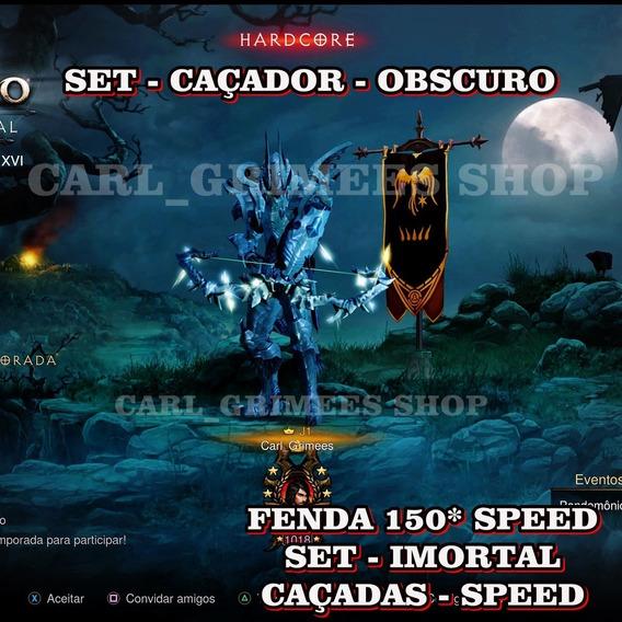 Diablo 3 - Ps4 - Kit Caçador -hardcore Imortal