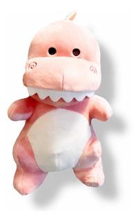 Peluche De Dinosaurio Rosa Miniso