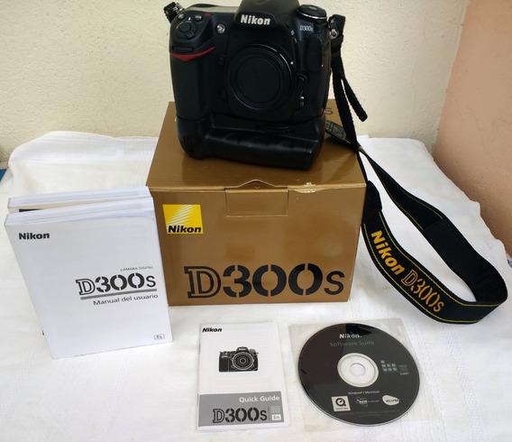 Nikon D300s + 3 Lentes + Extensor + Flesh Sb-600