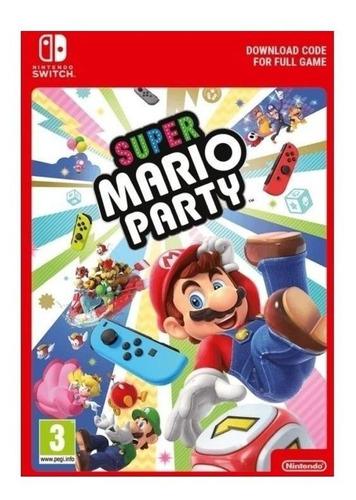 Imagen 1 de 3 de Super Mario Party Standard Edition Nintendo Switch  Digital
