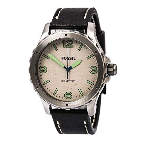 Relógio Fossil Nate Jr1461/0cn Autêntico