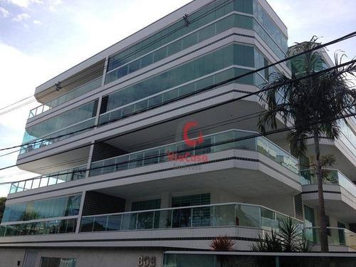 Cobertura Com 2 Dormitórios À Venda, 80 M² Por R$ 390.000,00 - Costazul - Rio Das Ostras/rj - Co0055