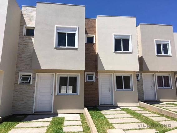 Casa Com 3 Dormitórios À Venda, 75 M² Por R$ 320.000 - Vila Nova - Porto Alegre/rs - Ca0536