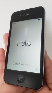 01 iPhone Geração 4s Com 16gb (preto) - Bem Conservado