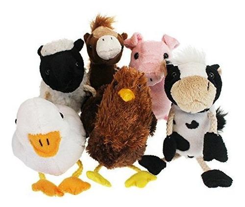 Marionetas De Dedo Puppet Company Farm Set De 6
