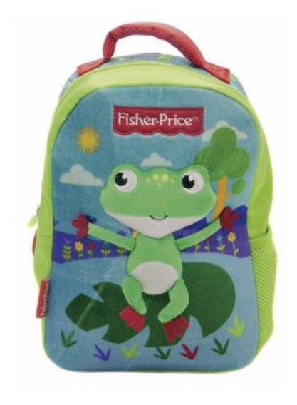 Mochila Infantil Animales Diseños Fisher Price Original