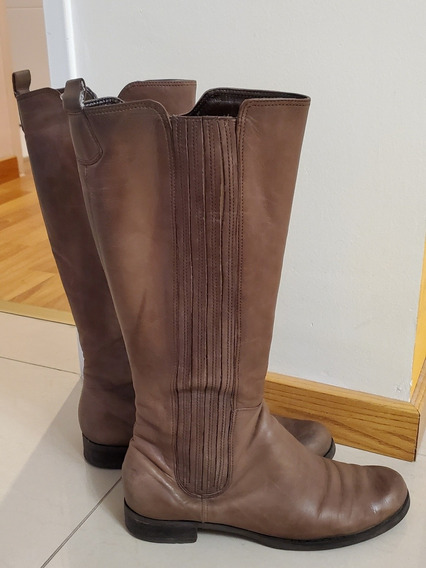 Botas Marrones Via Uno - Talle 37